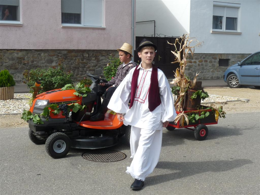 2012 <br />nemzetiségi nap<br /> szüreti felvonulás